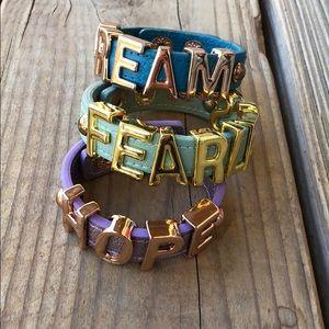 BCBGeneration Dream Hope & Fearless Cuffs!